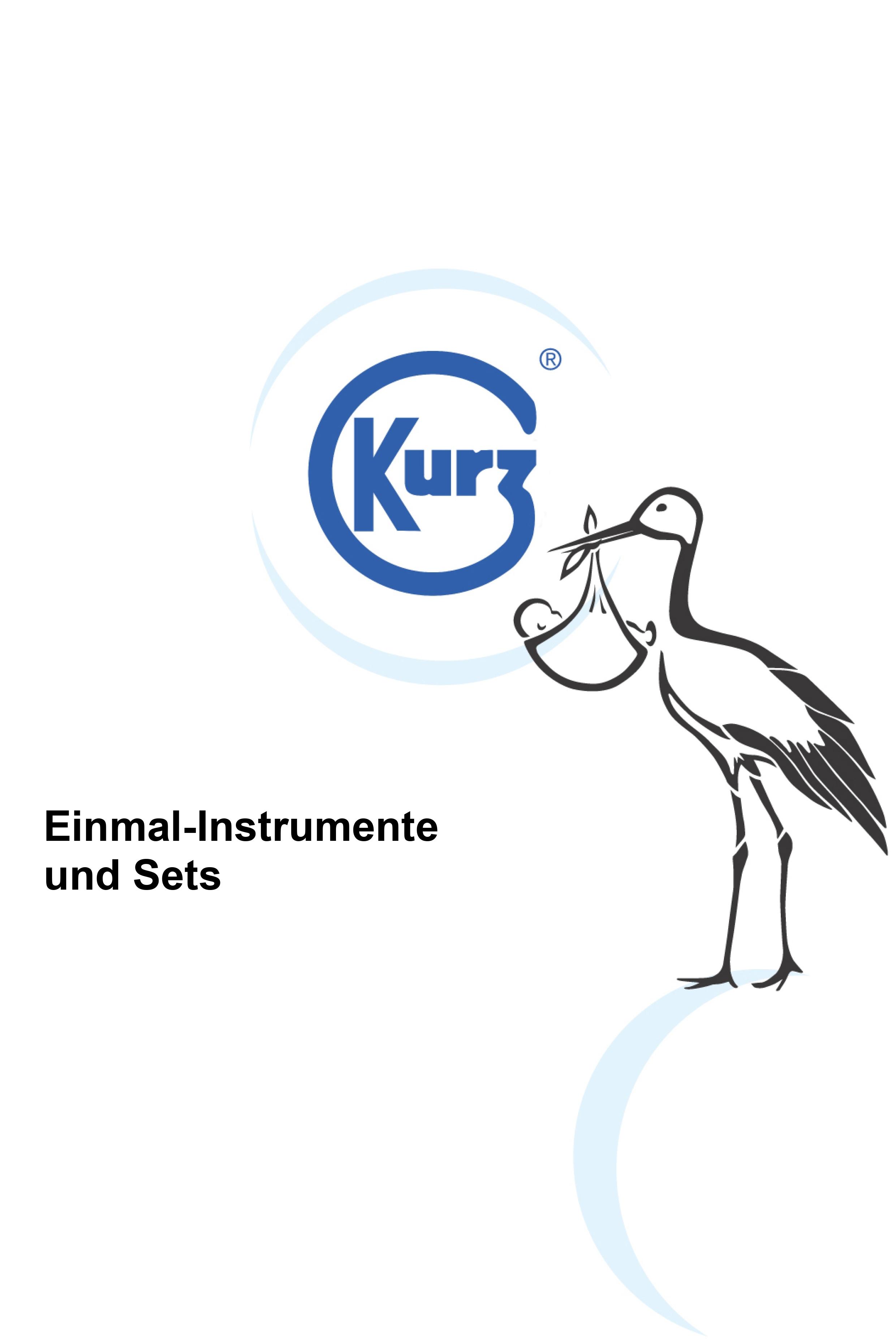 Einmal-Instrumente und Sets
